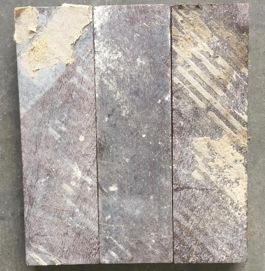 Reclaimed mahogany parquet