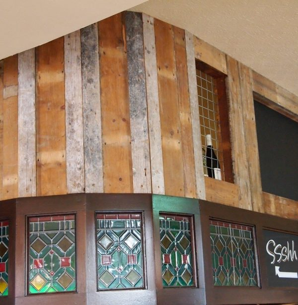 Our wall cladding used in a Pub in Bow