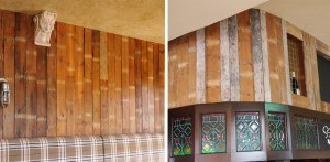 Reclaimed pub design Bow
