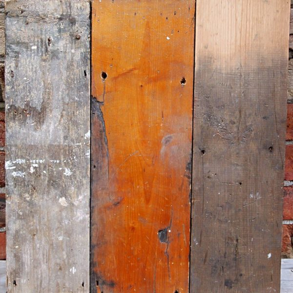 Reclaimed wall cladding mix