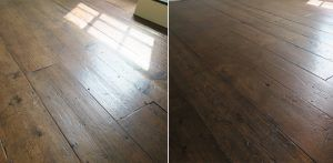 Georgian floorboards Encore Reclamation supplied to Vincent Reed Ltd
