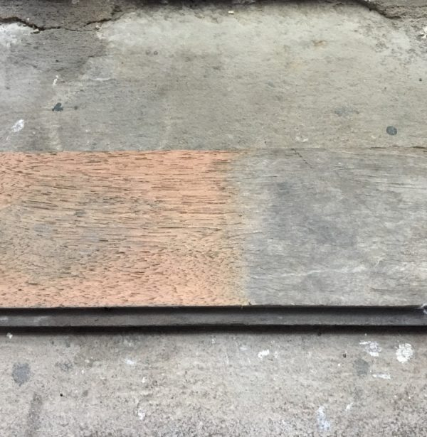 Reclaimed strip flooring