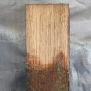 Sanded oak block image