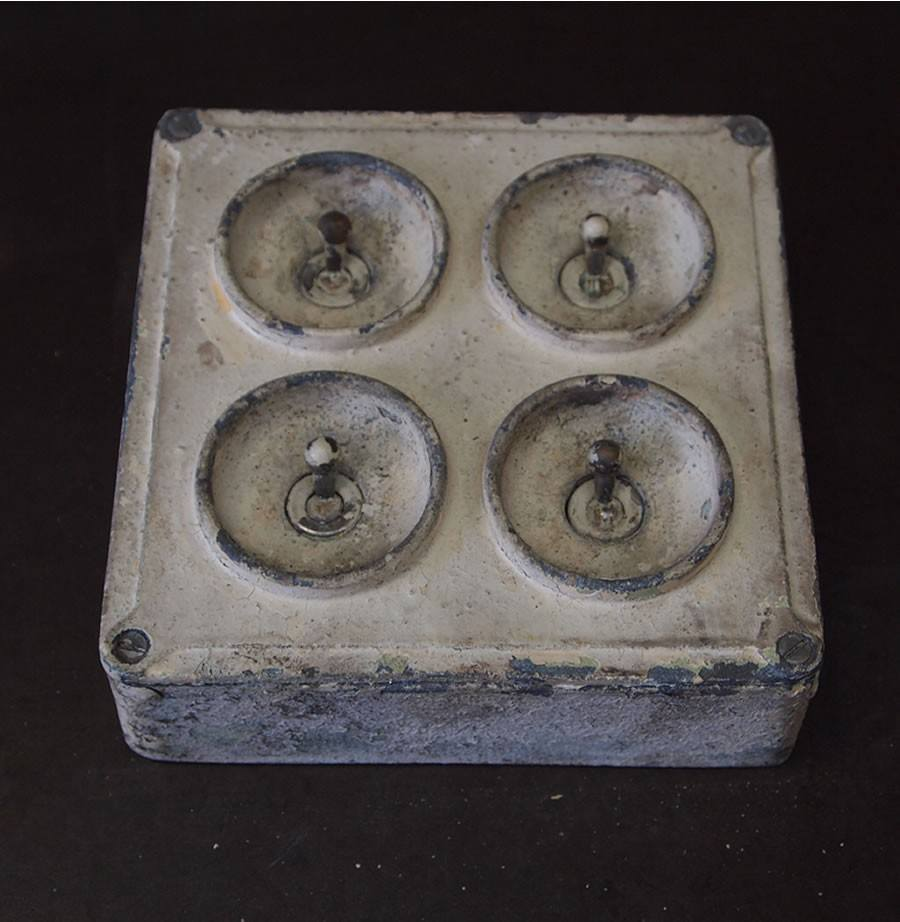 Vintage Industrial Light Switch | Encore Reclamation