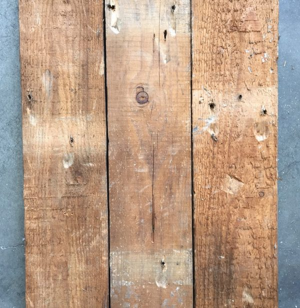 125mm reclaimed roofboard (rear of boards)