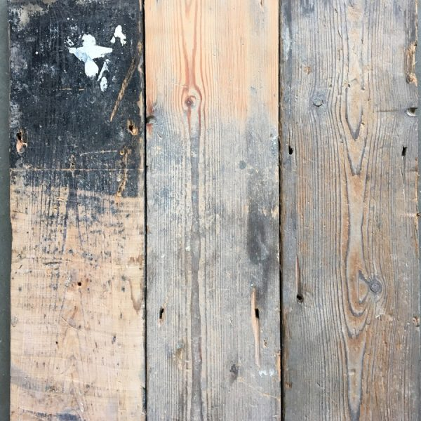 Reclaimed floorboards 145mm