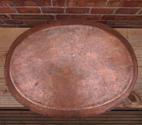 Antique Copper Serving Platter