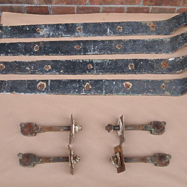 Antique Wrought Iron Hinges