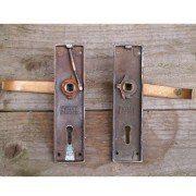 Bronze Key Hole Handle