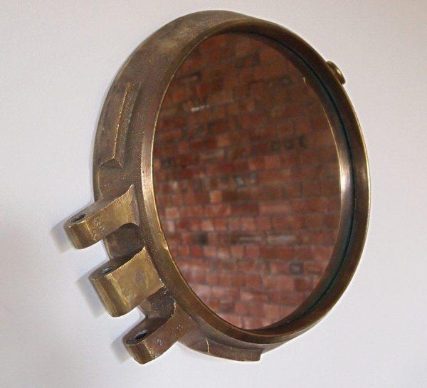 Bronze Porthole Mirror
