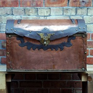 Antique Copper Chest