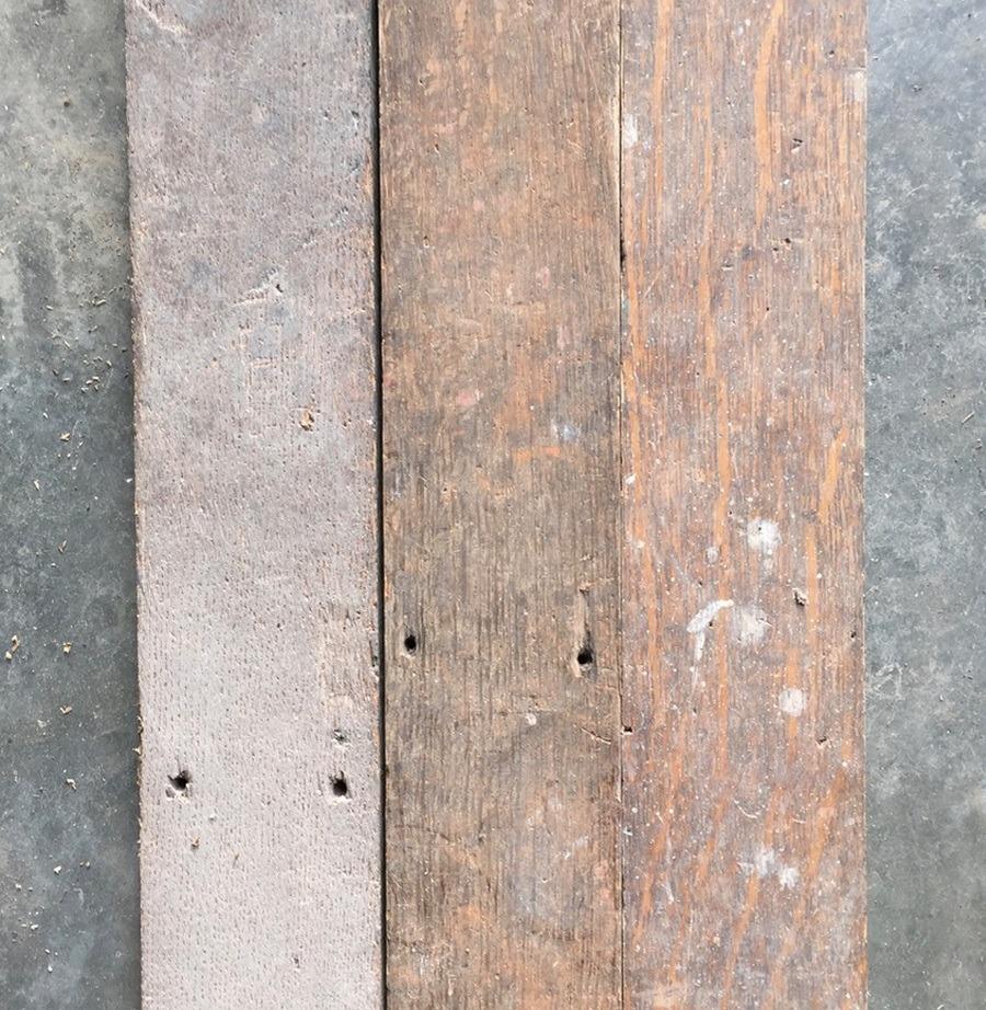 Reclaimed Mayfair oak strip