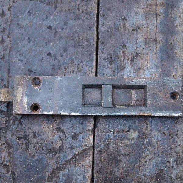 Reclaimed brass bolt.