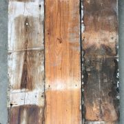 Reclaimed floorboards 145mm (rear of boards)