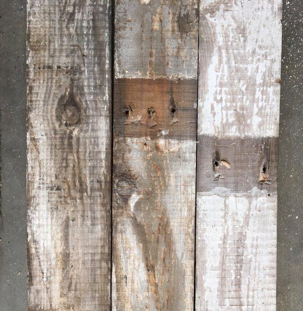 130mm reclaimed pine roofboard (rear of boards)