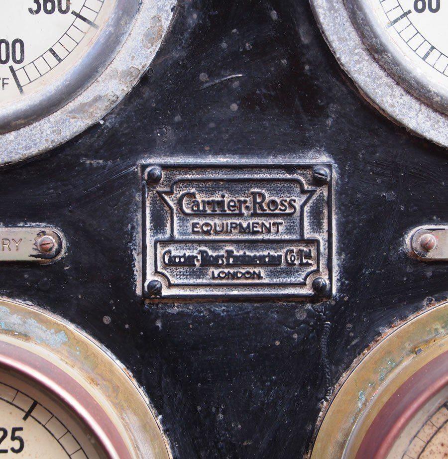 Vintage Industrial Boiler Panel Encore Reclamation