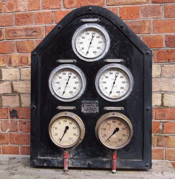 Vintage Industrial Boiler Panel