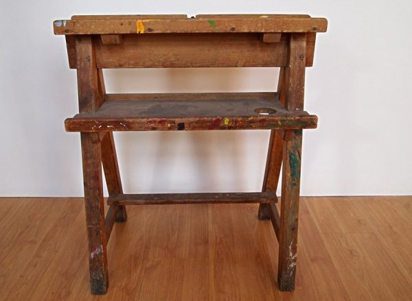 Vintage Childs Painters Easel
