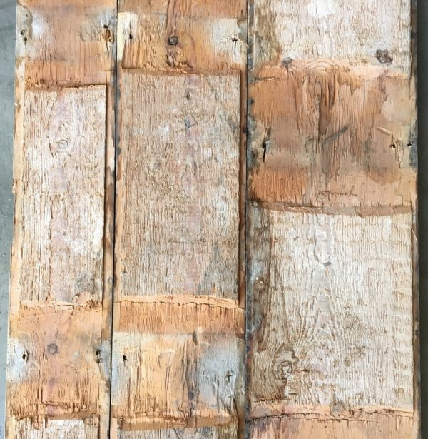 Georgian floorboards (rear of boards)