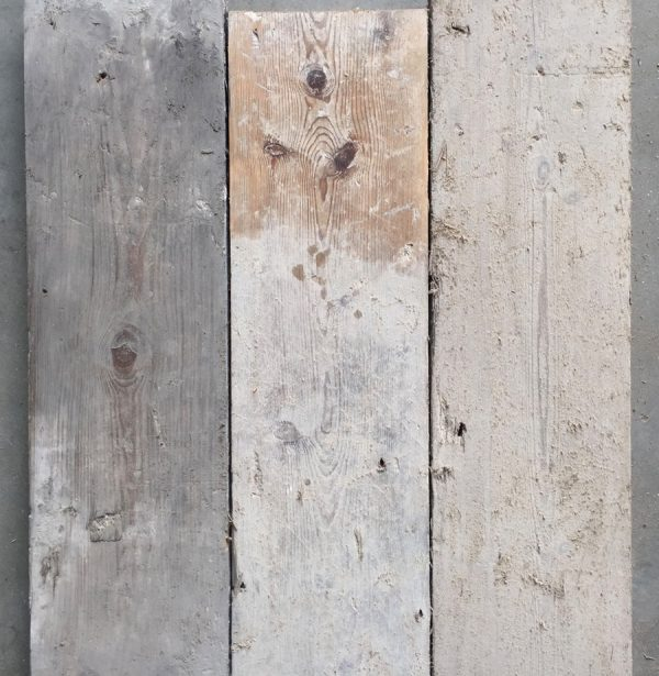 Reclaimed 160mm floorboards