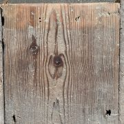 Reclaimed floorboards 170mm (lightly sanded section)