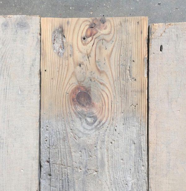 155mm reclaimed floorboards (lightly sanded)
