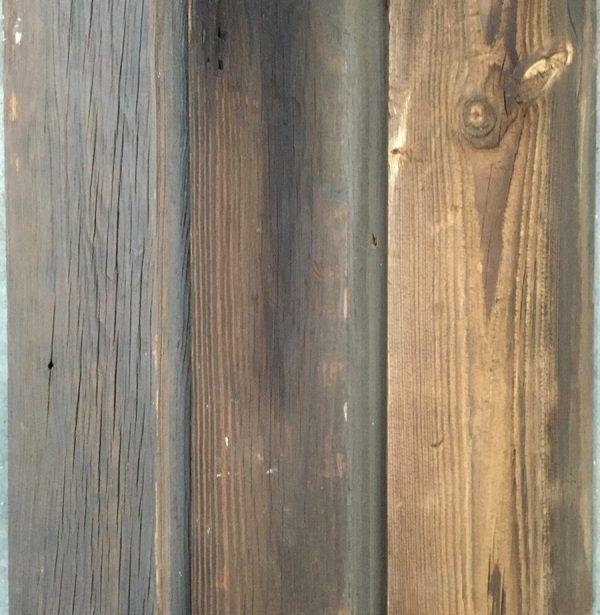 Rustic pine wall cladding
