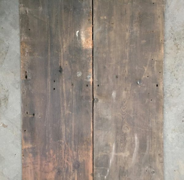 Wide early Victorian boards