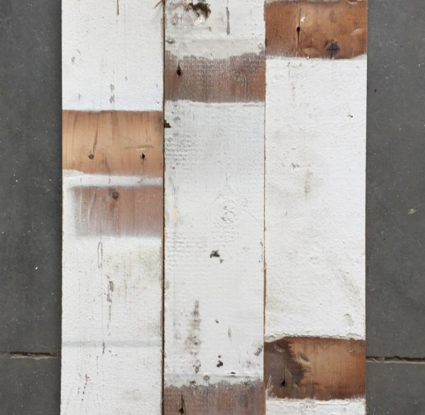 Reclaimed wood cladding