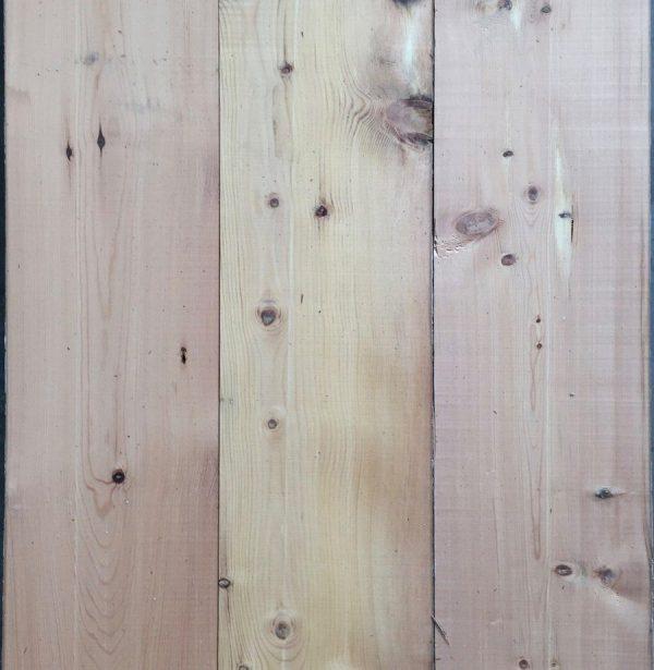 Re-sawn pine floorboards 205mm