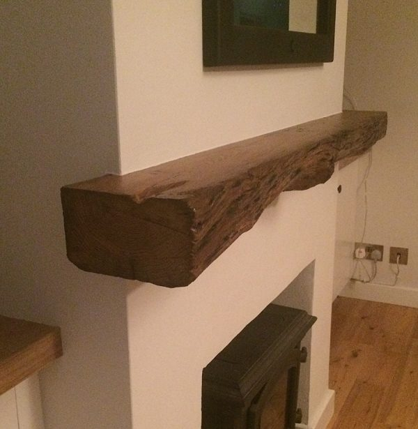 Customers use of these oak beams