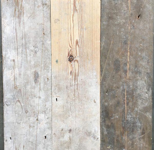 Reclaimed 140mm floorboards