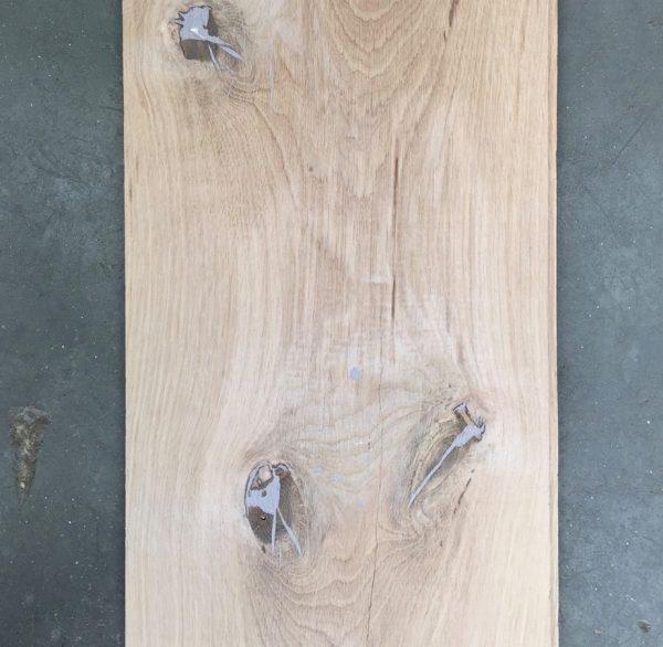 Solid rustic oak 200mm floorboards