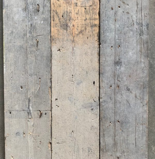 Reclaimed pine floorboards 155mm