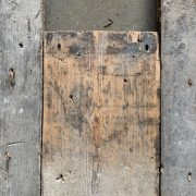 Reclaimed pine floorboards 155mm (lightly sanded section)
