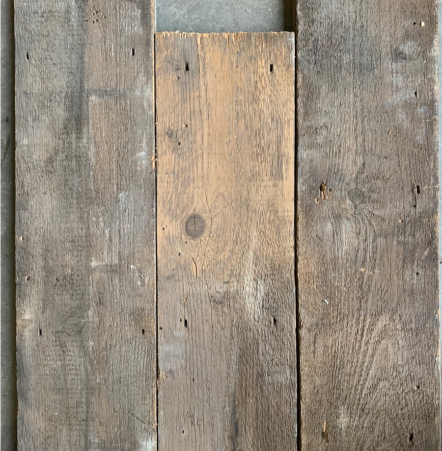 Reclaimed roof boards 205mm
