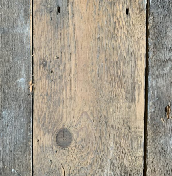 Reclaimed roof boards 205mm (lightly sanded section)