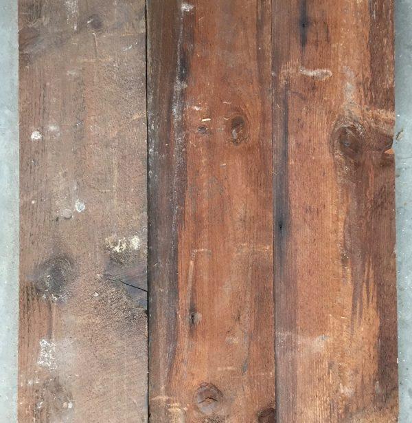 Reclaimed 130mm roofboard (rear of boards)