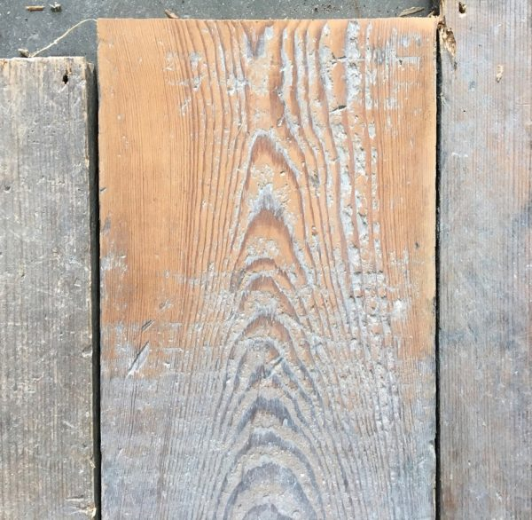 Reclaimed floorboards 160mm (lightly sanded)