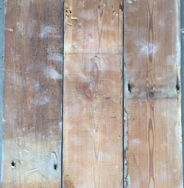 Reclaimed floorboards 108mm (rear of boards)