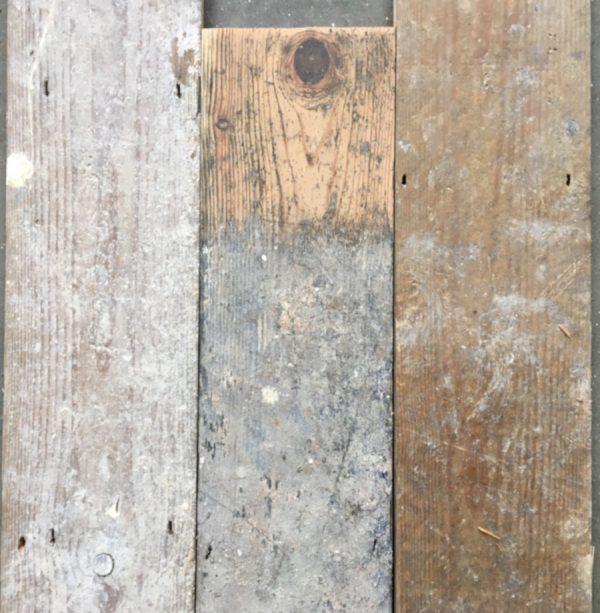 Reclaimed 130mm floorboards