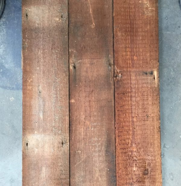 Canadian pine roofboard 120mm (rear of boards)