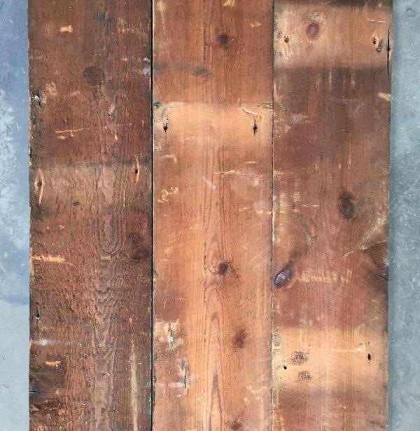 127mm reclaimed roofboard (rear of boards)