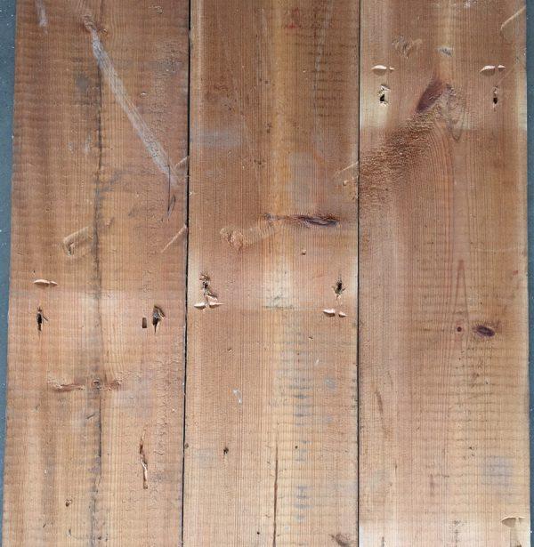 Reclaimed floorboards 145mm (rear of boards)