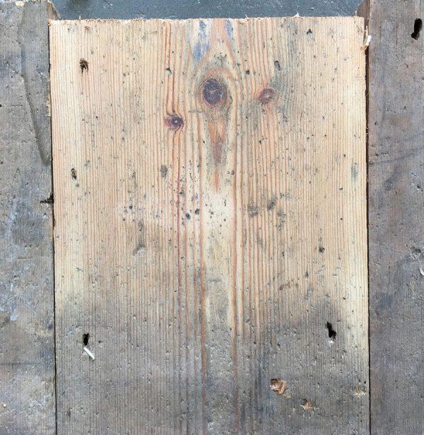 Reclaimed floorboards 145mm (lightly sanded)