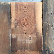 200mm reclaimed roof boards (lightly sanded section)