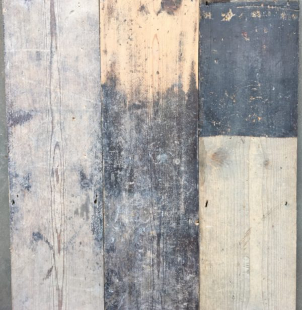 Reclaimed 170mm floorboards