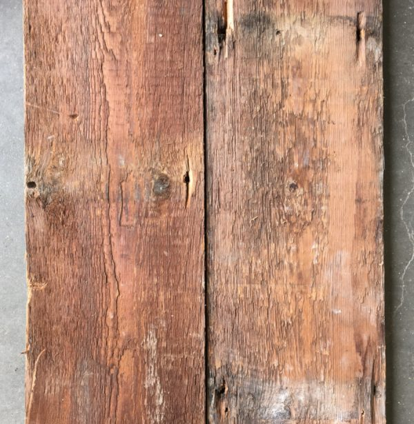 Reclaimed Victorian floorboards 190mm (rear of boards)