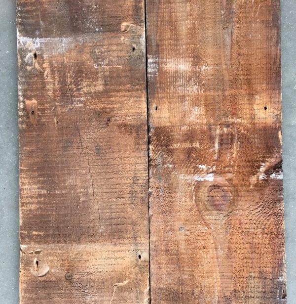 Reclaimed 225mm roof boards (rear of boards)