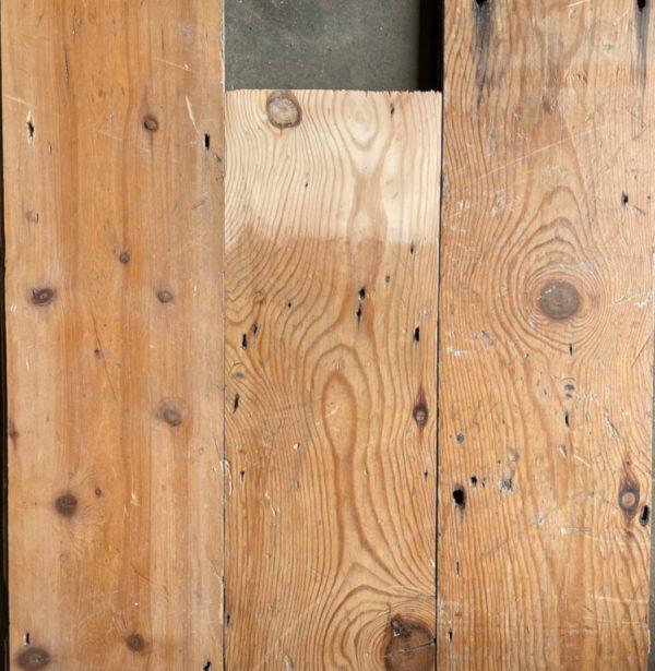 Reclaimed pine floorboard 150mm